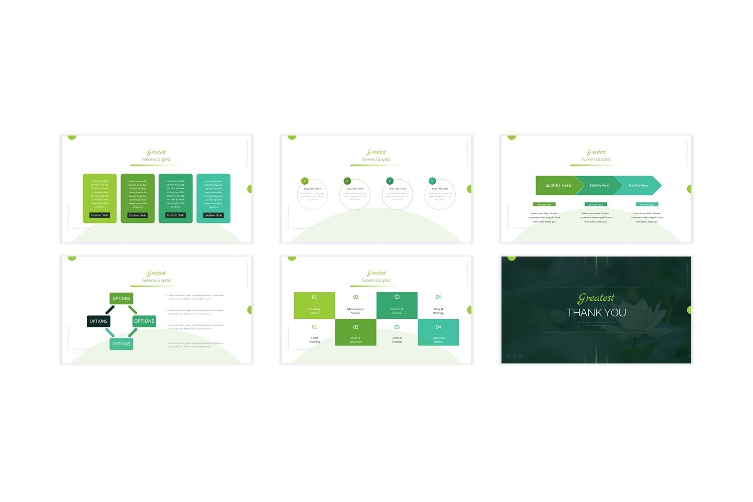 Greatest - Keynote Template example image 2