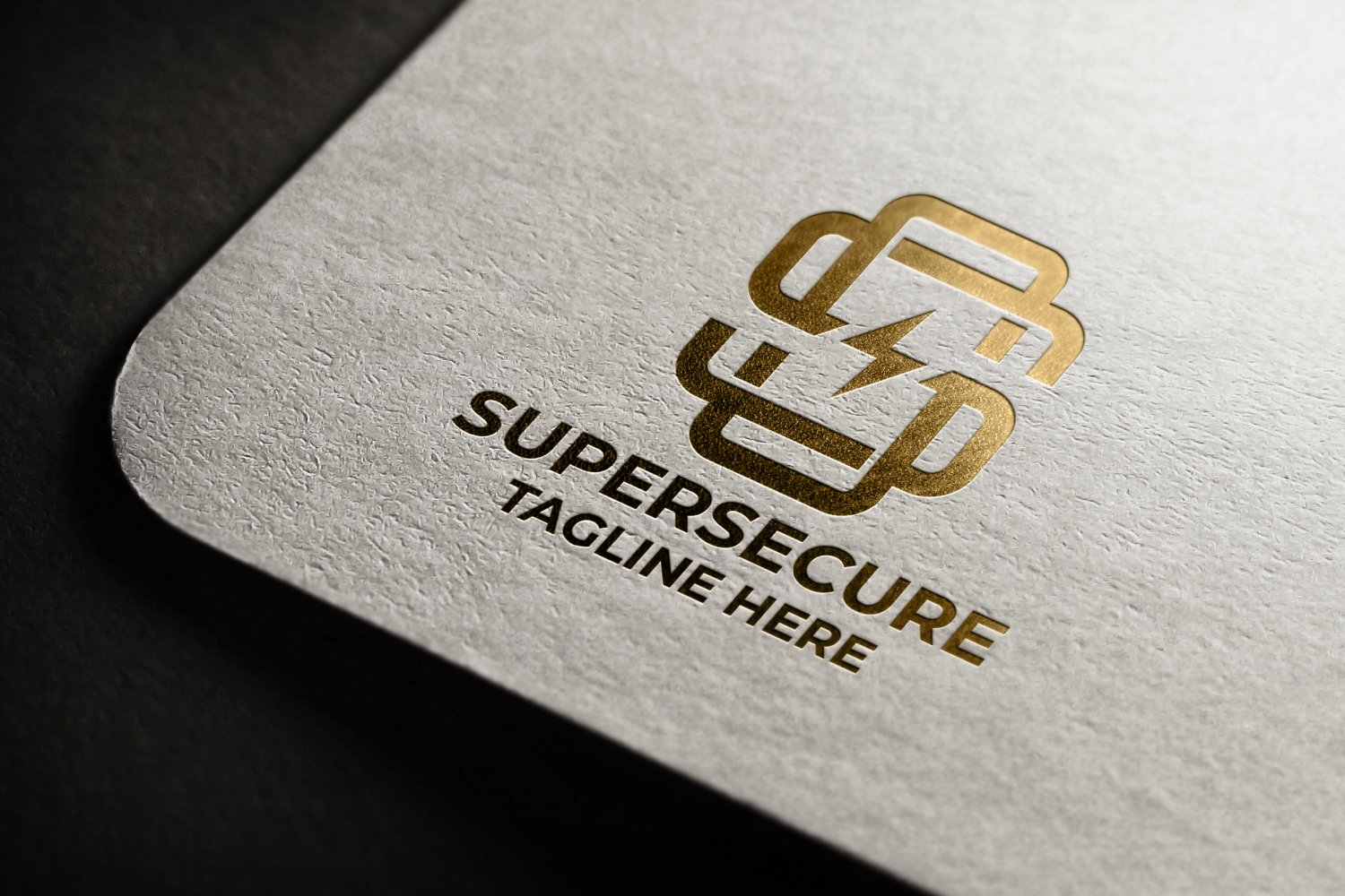 Super Secure Letter S Logo example image 1
