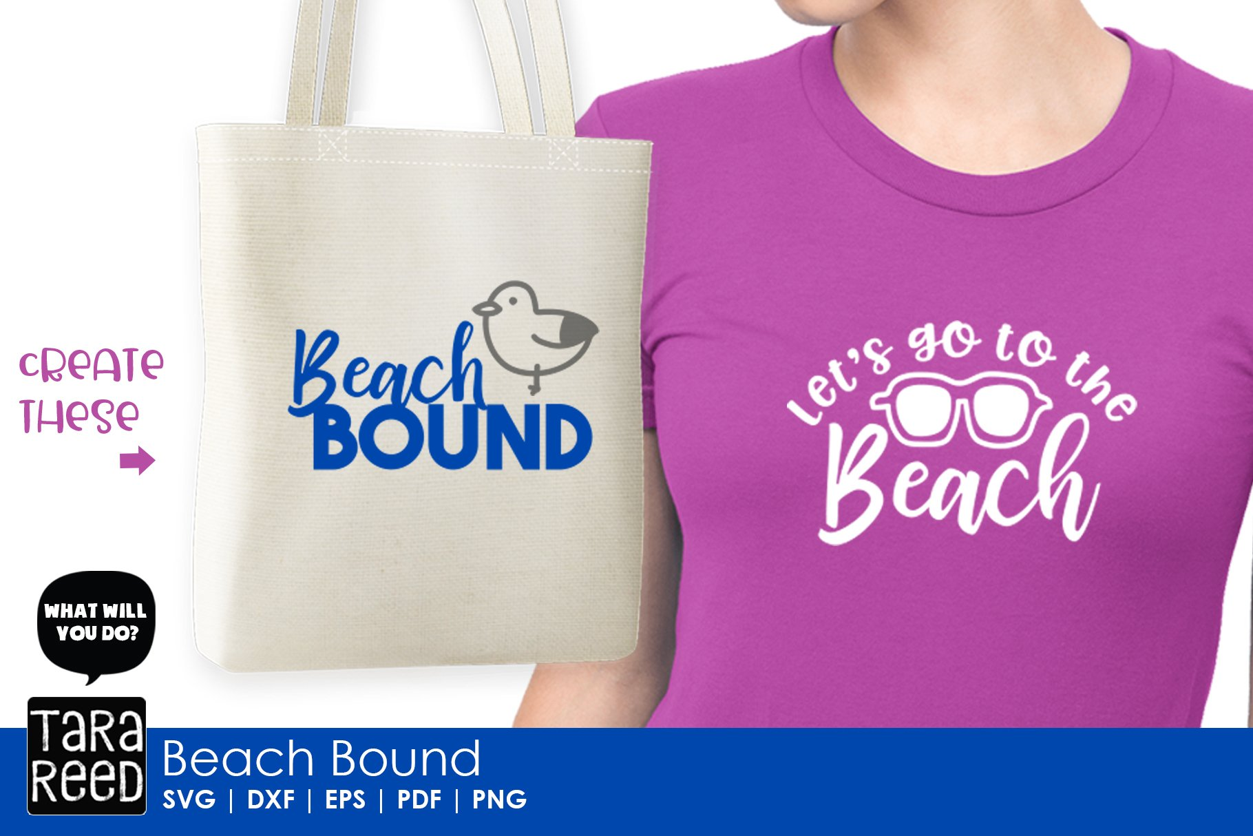 Beach Bound - Beach SVG and Cut Files for Crafters example image 2