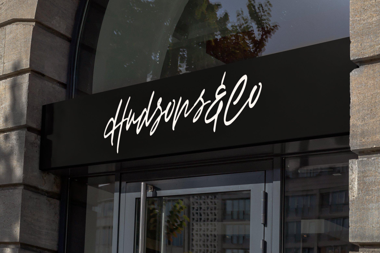 Haffigo - Script Fonts example image 4