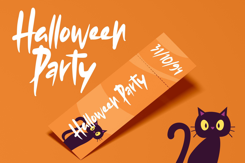 Ajaro - Sweet Halloween Font example image 5