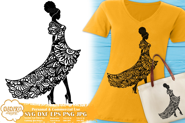 Zentangle Svg Wedding Svg Black Woman Svg Mandala Svg 759526 Cut Files Design Bundles