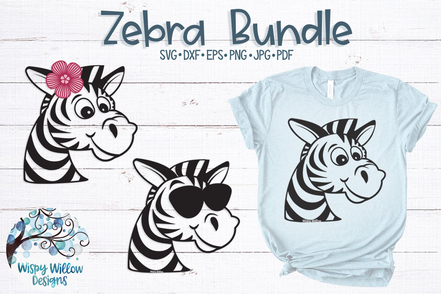 Zebra SVG Bundle example image 1