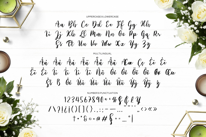 Sabilo Script Font example image 3