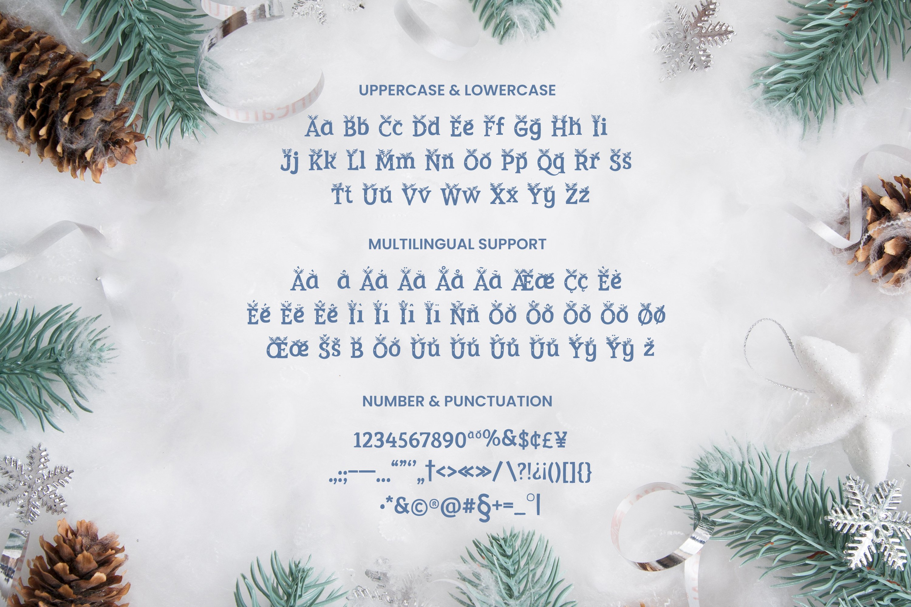 Christmas Font example image 4