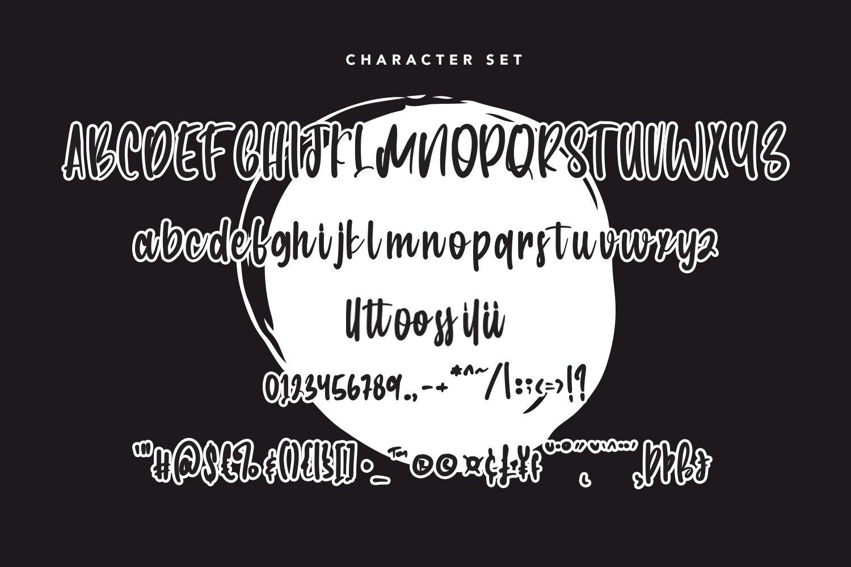 Winter Kisses - Handwritten Script Font example image 4