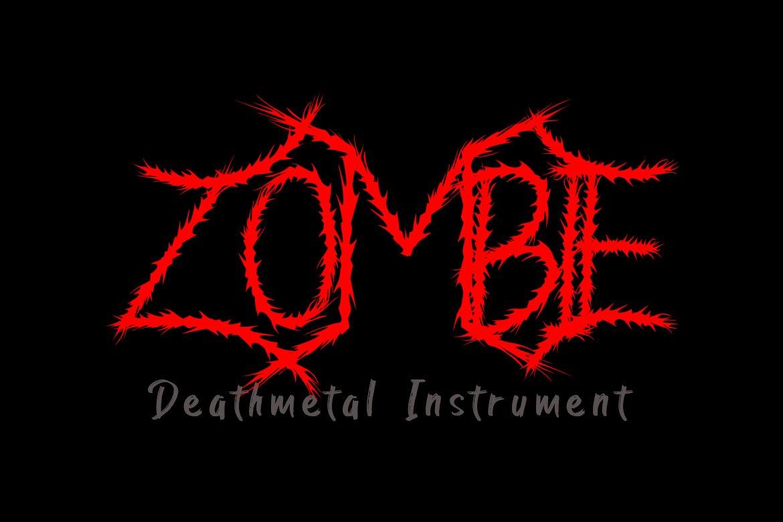 Mantune | Death Metal Font example image 2