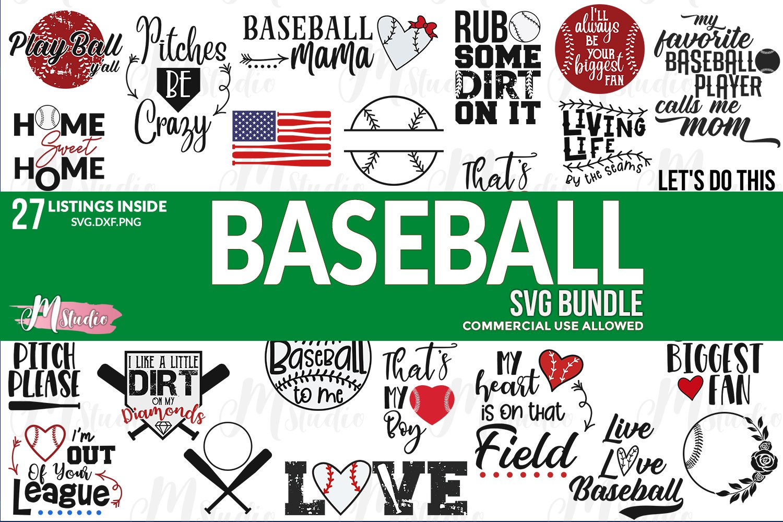 Download Baseball Svg Png Dxf Cut Files Massive 27 Piece Bundle