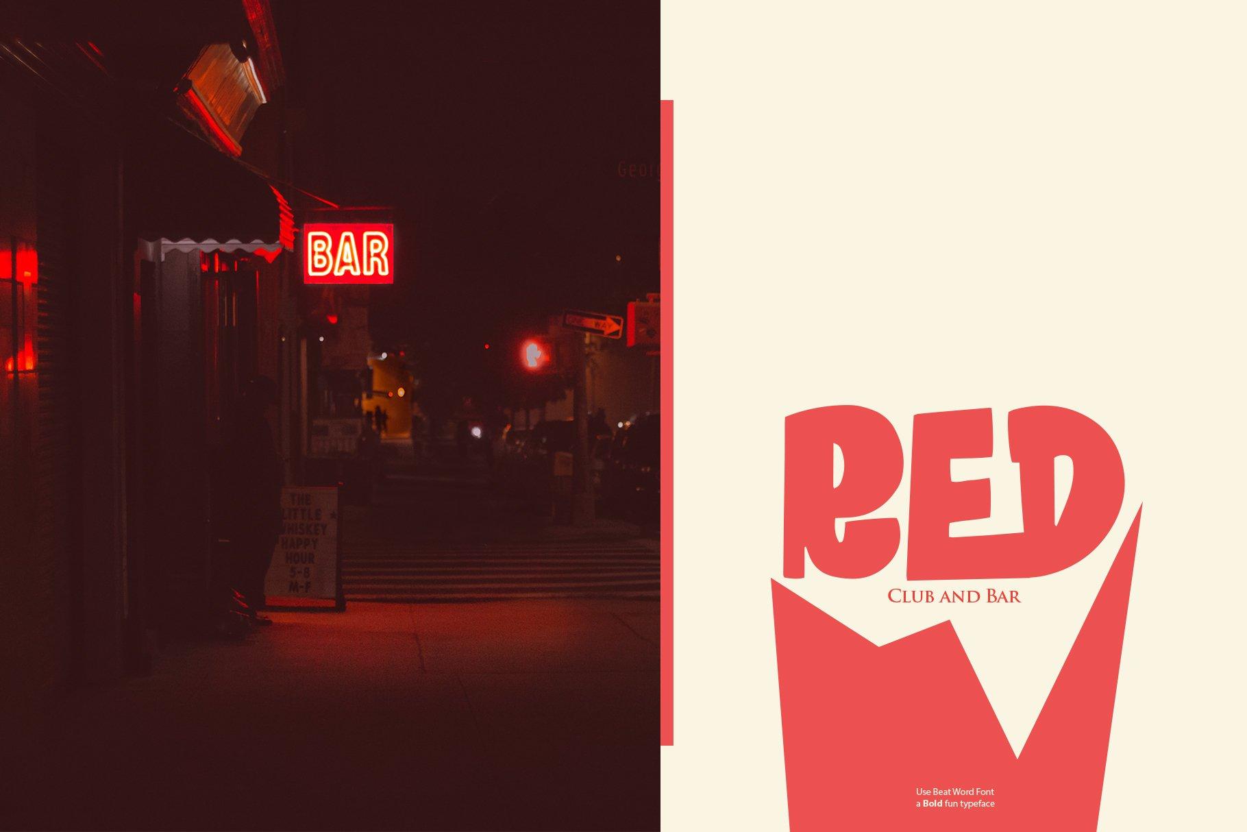 Beat Word | Bold fun Display example image 9