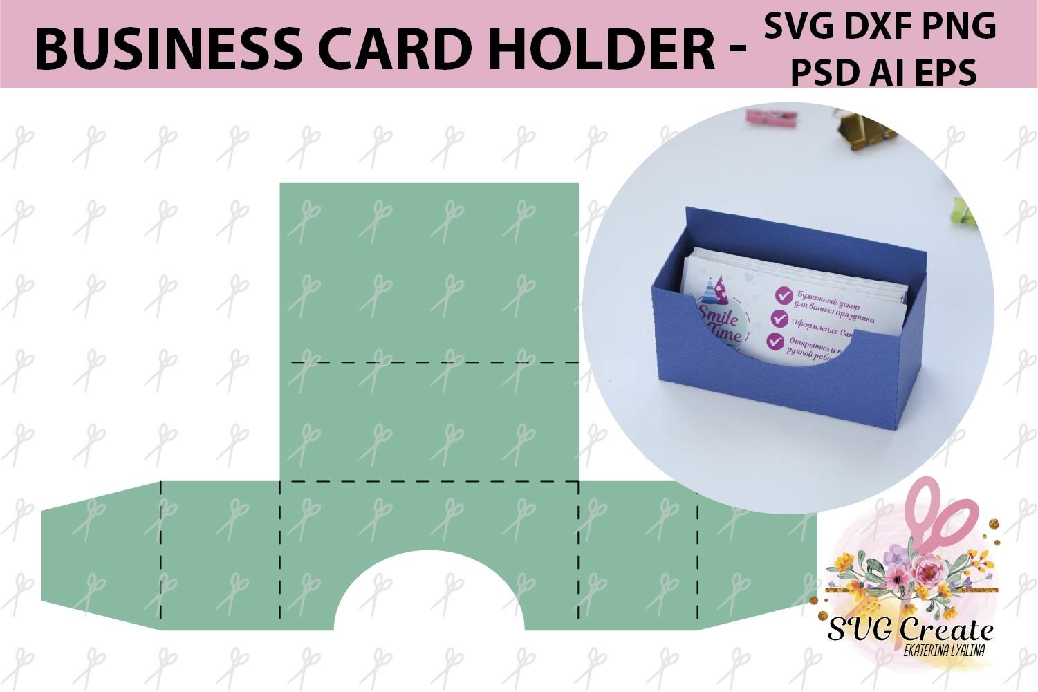 Business card holder template stand paper organiser box (21 Throughout Card Stand Template