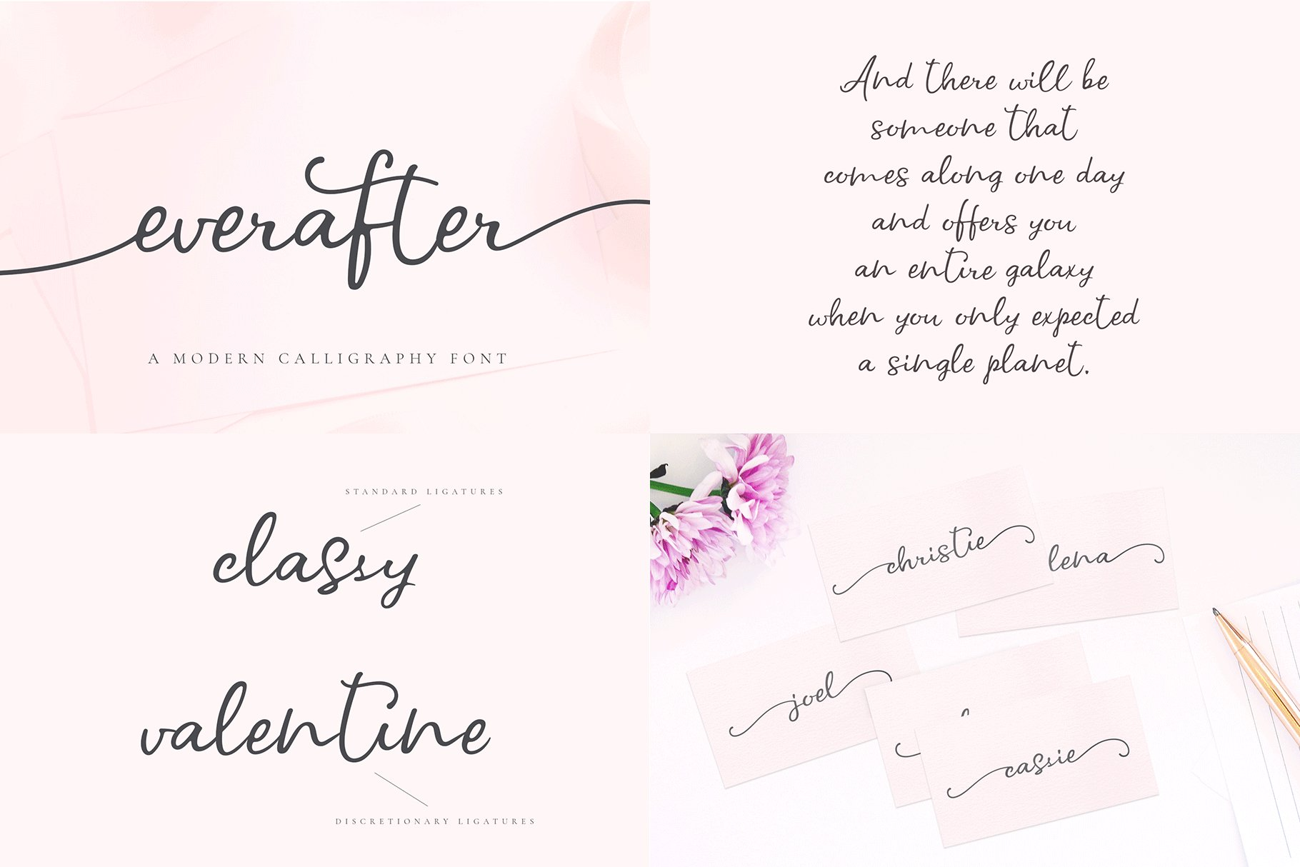 The Hand Lettered Font Bundle example image 2