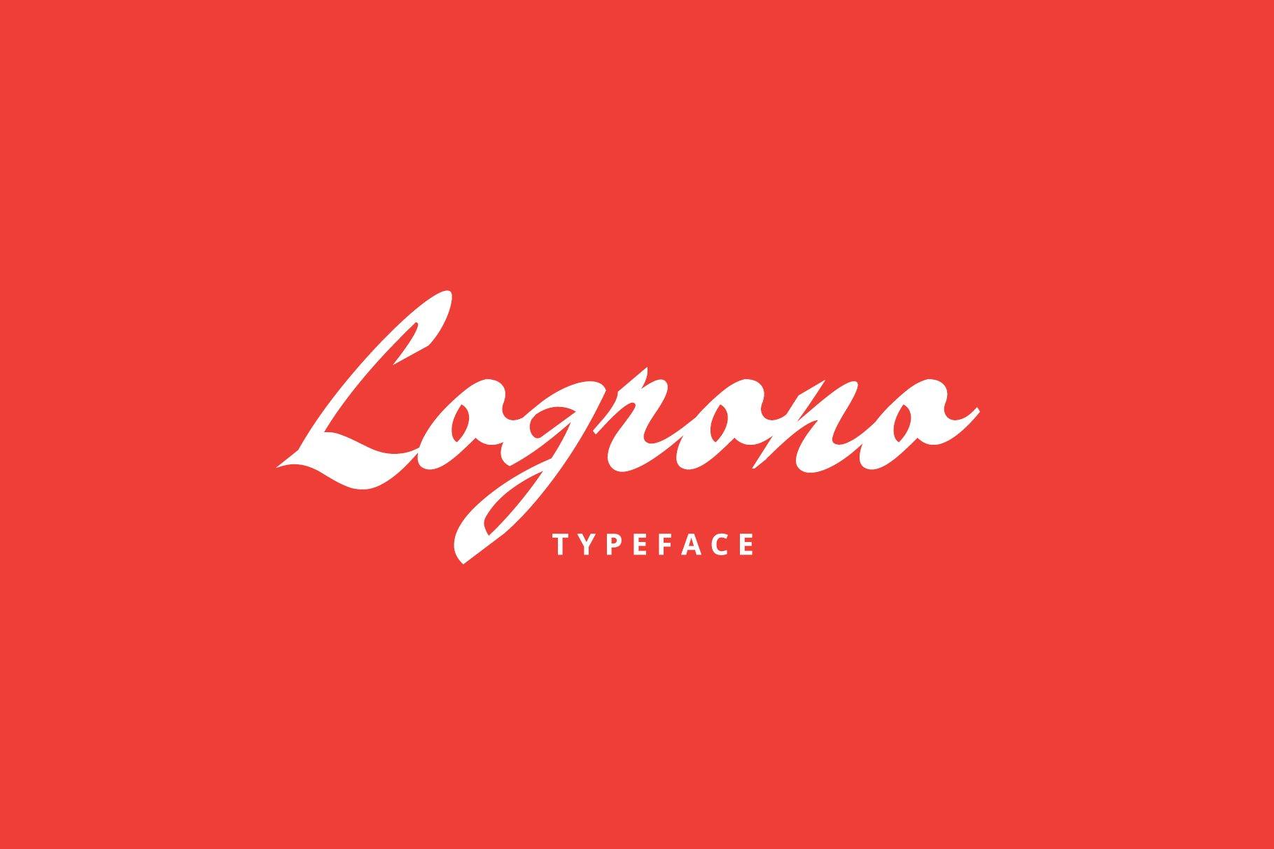 Logrono Typeface example image 1