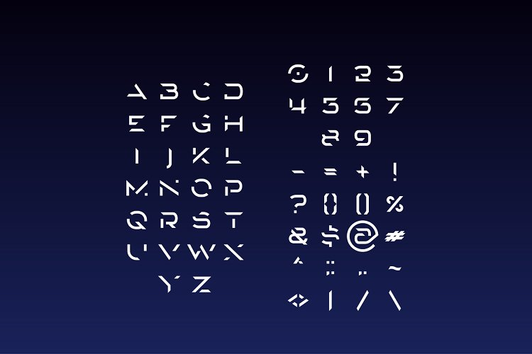 Rockean font example image 2