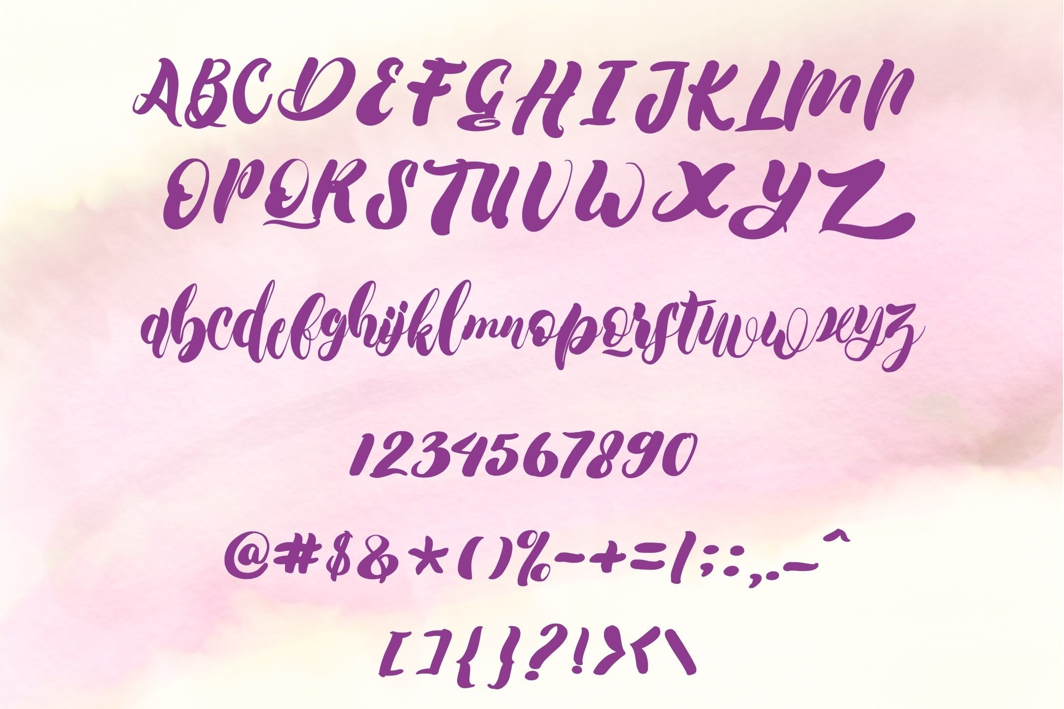 Symbian Cute Bold Font example image 5
