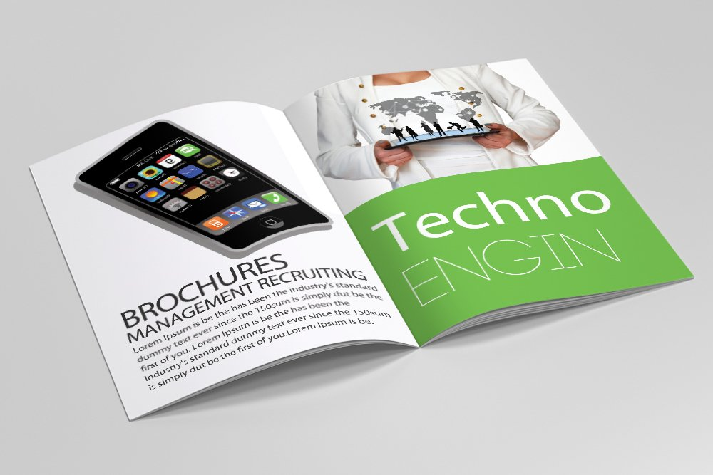 Business Agency Bifold Brochure 16 Pages example image 6