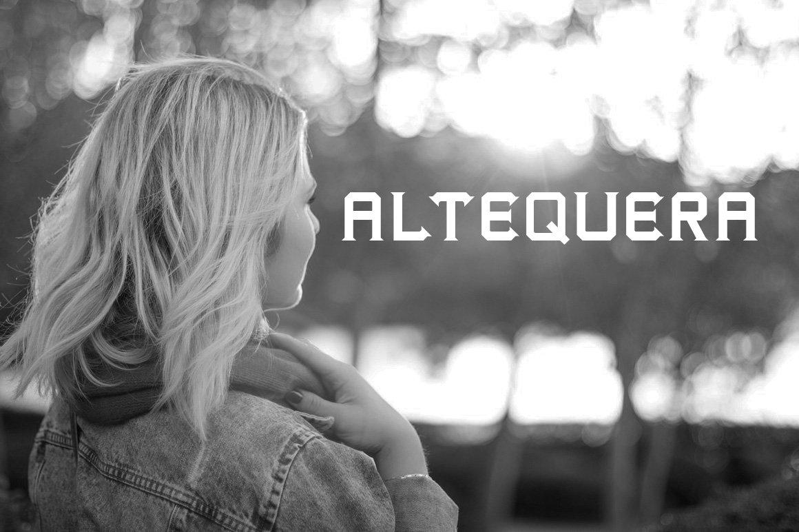 Altequera Typeface example image 2