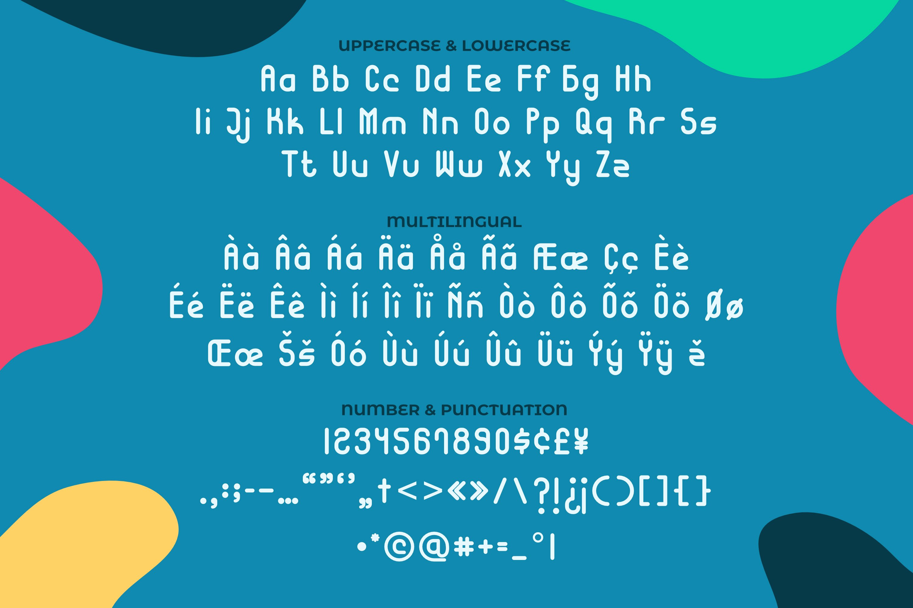 Hostage Font example image 3