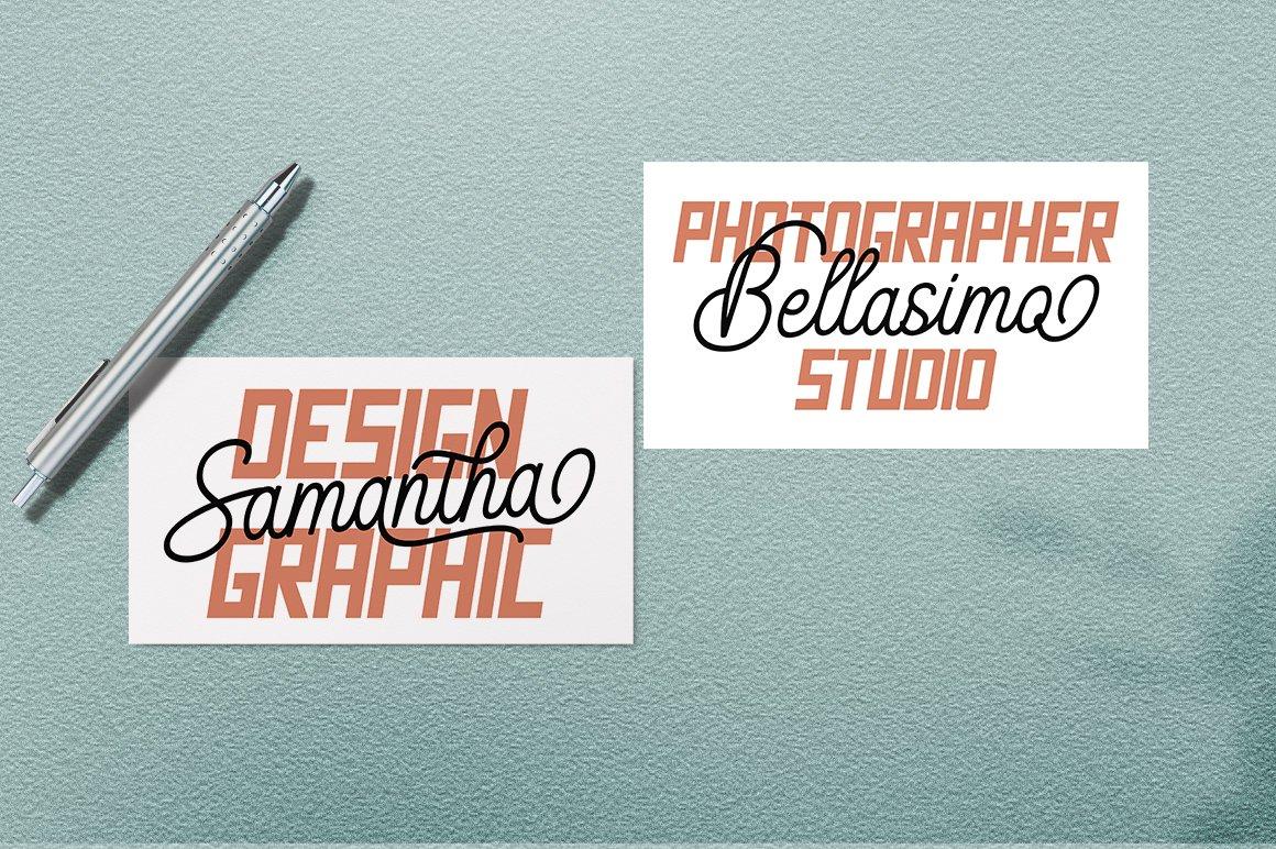 Brendan Combinations Font example image 5