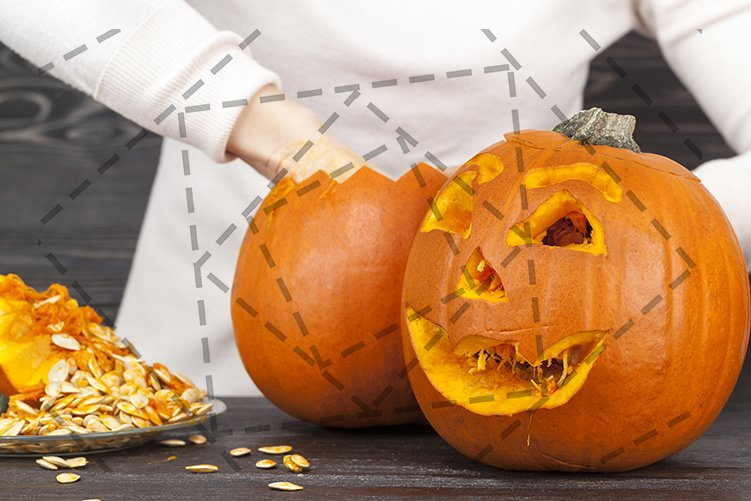 pumpkin to celebrate Halloween example image 1