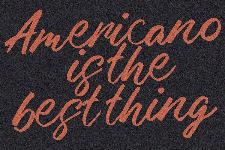 Malika Brush Script Typeface example image 10