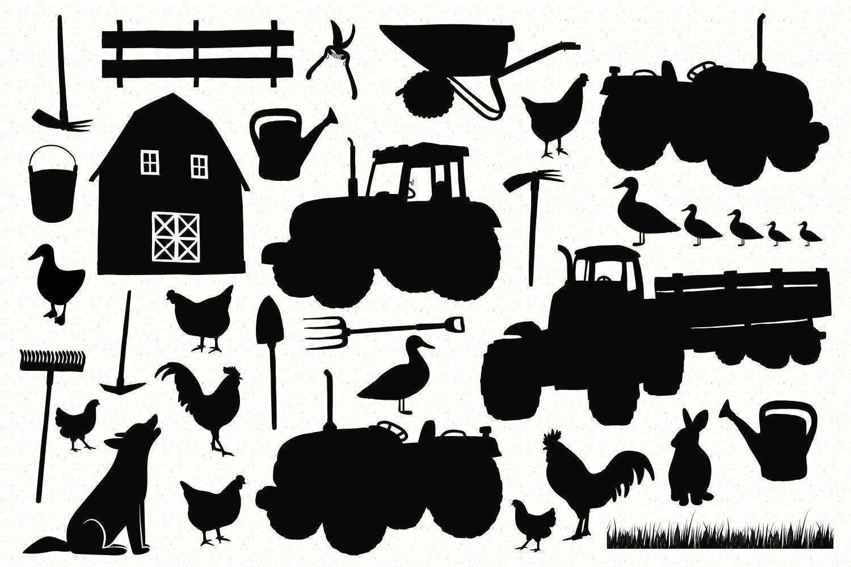 Farm Silhouettes example image 2