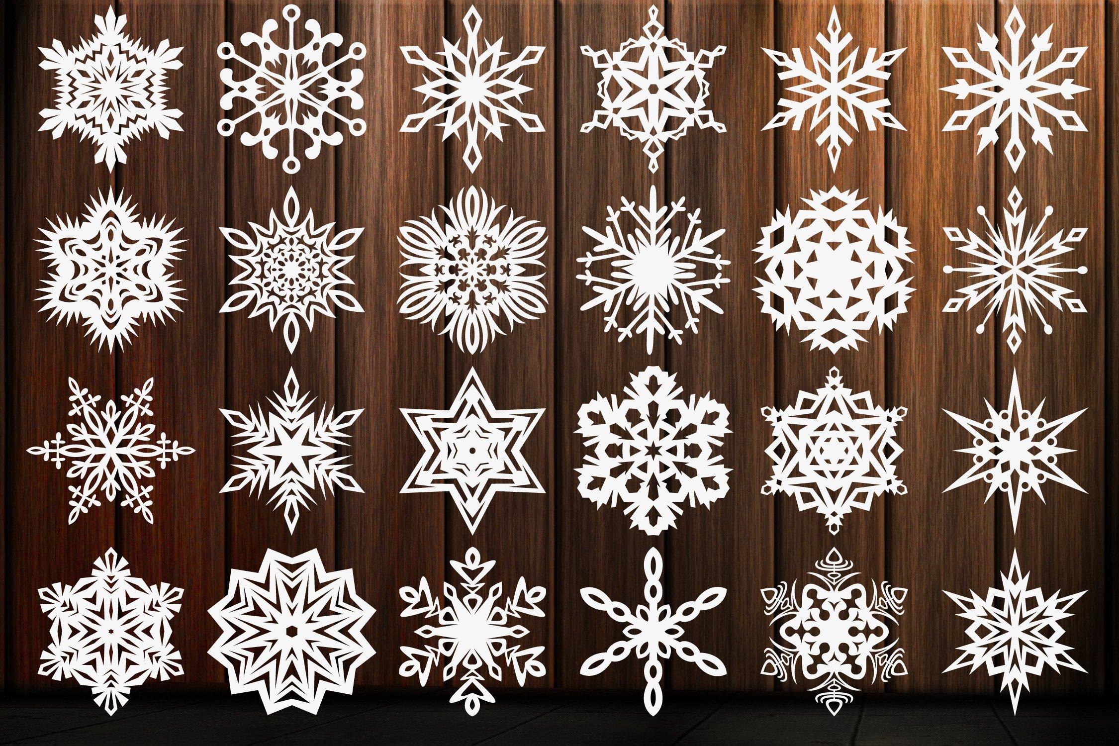 Snowflake SVG, Christmas Snowflakes SVG,