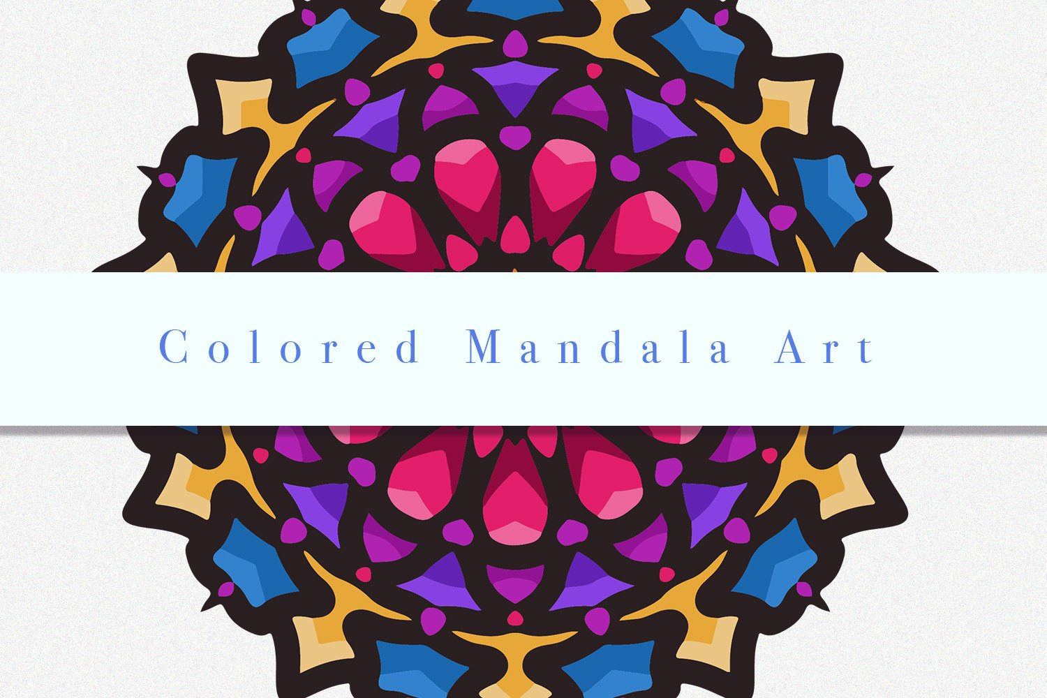 Colored Mandala Art 02 example image 3