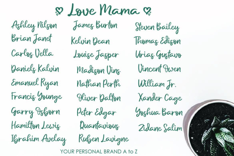 Love Mama example image 4