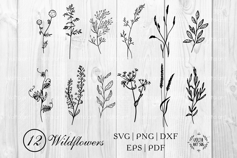 Flower motifs svg Colorful Flowers cut file Flowers Vector Flowers clip art Floral cut file 6 x Floral stickers Flowers SVG file