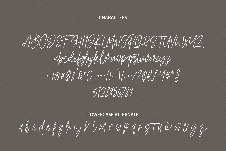 Artlines - Modern Handwritten Font example image 10