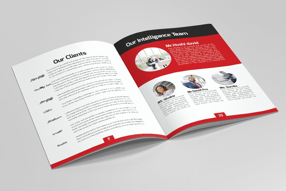 Business Catalogue Brochure 16 Pages example image 3