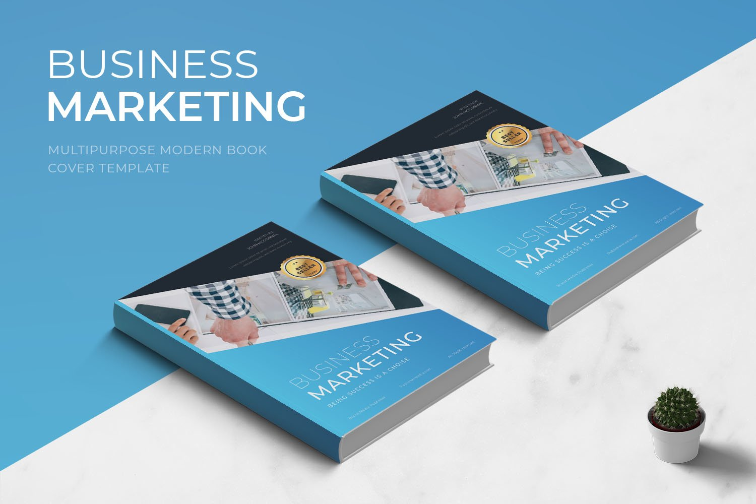 Business Marketing Book Cover example image 1