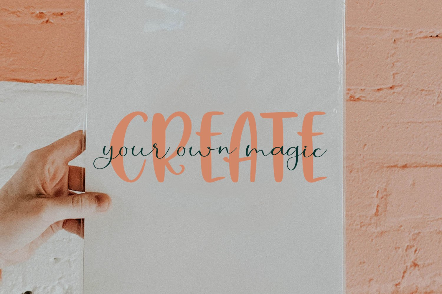 Hey Lovely. Font Duo example image 3