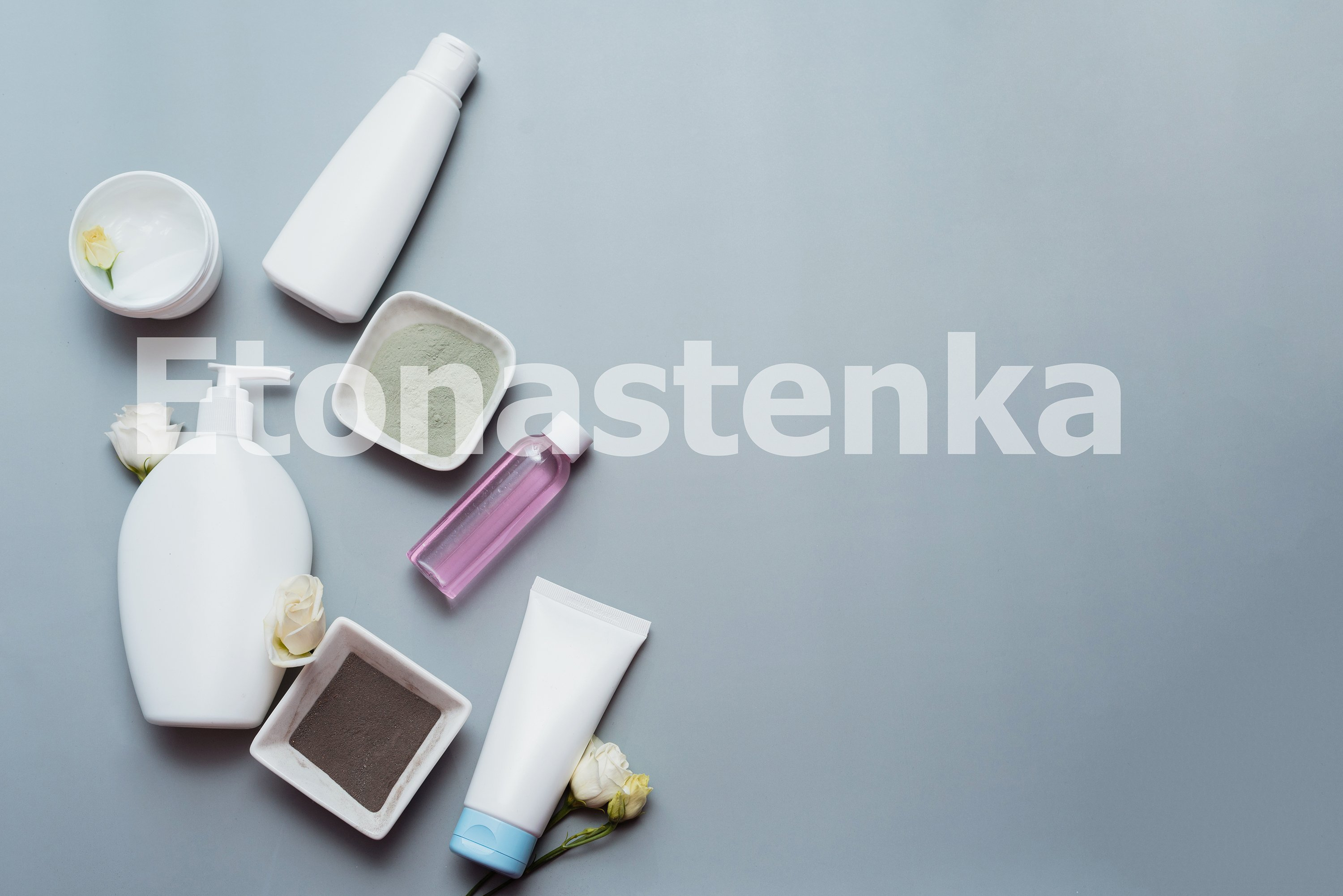 Cosmetics from natural ingredients and flower extracts example image 1