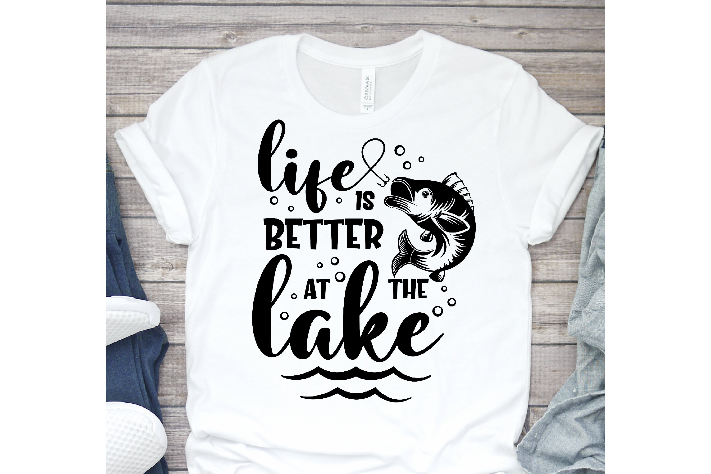 Lake Bundle SVG, Lake Quotes SVG, lake life svg, funny Quote example image 6
