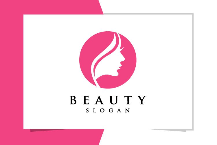 Beauty Face Logo Design 740210 Logos Design Bundles