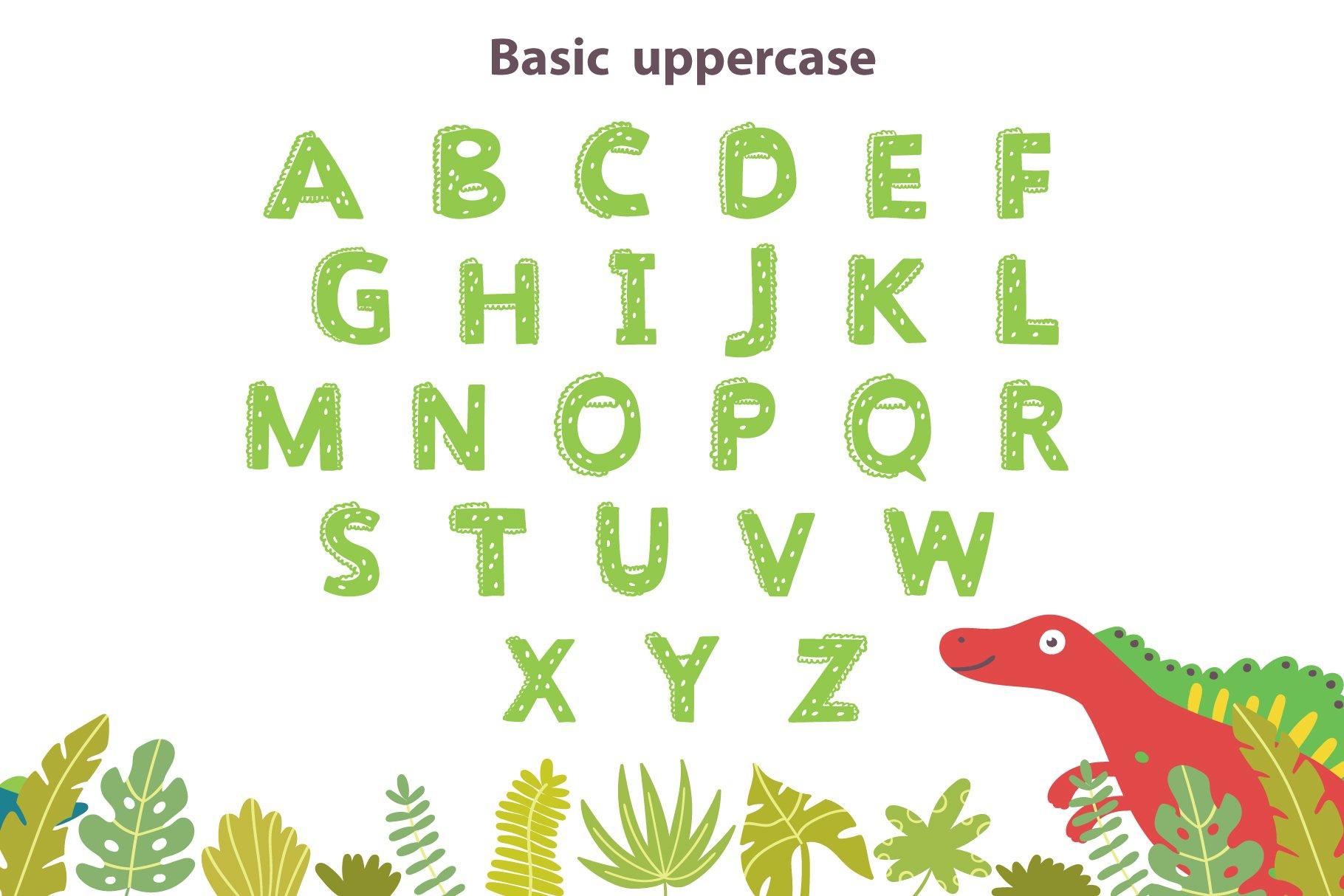 Dinosaur Font example image 4