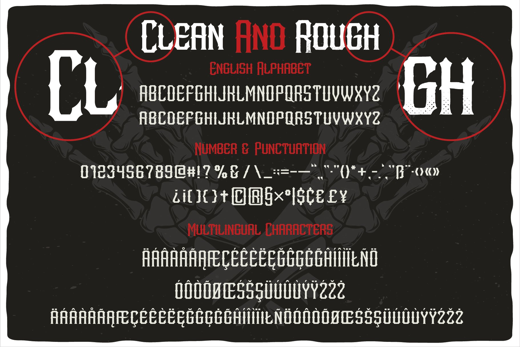 MetalCore Font Duo example image 4