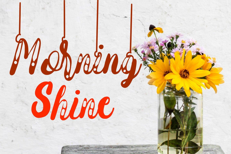 Hanging Darling Decorative Holiday Font example image 7