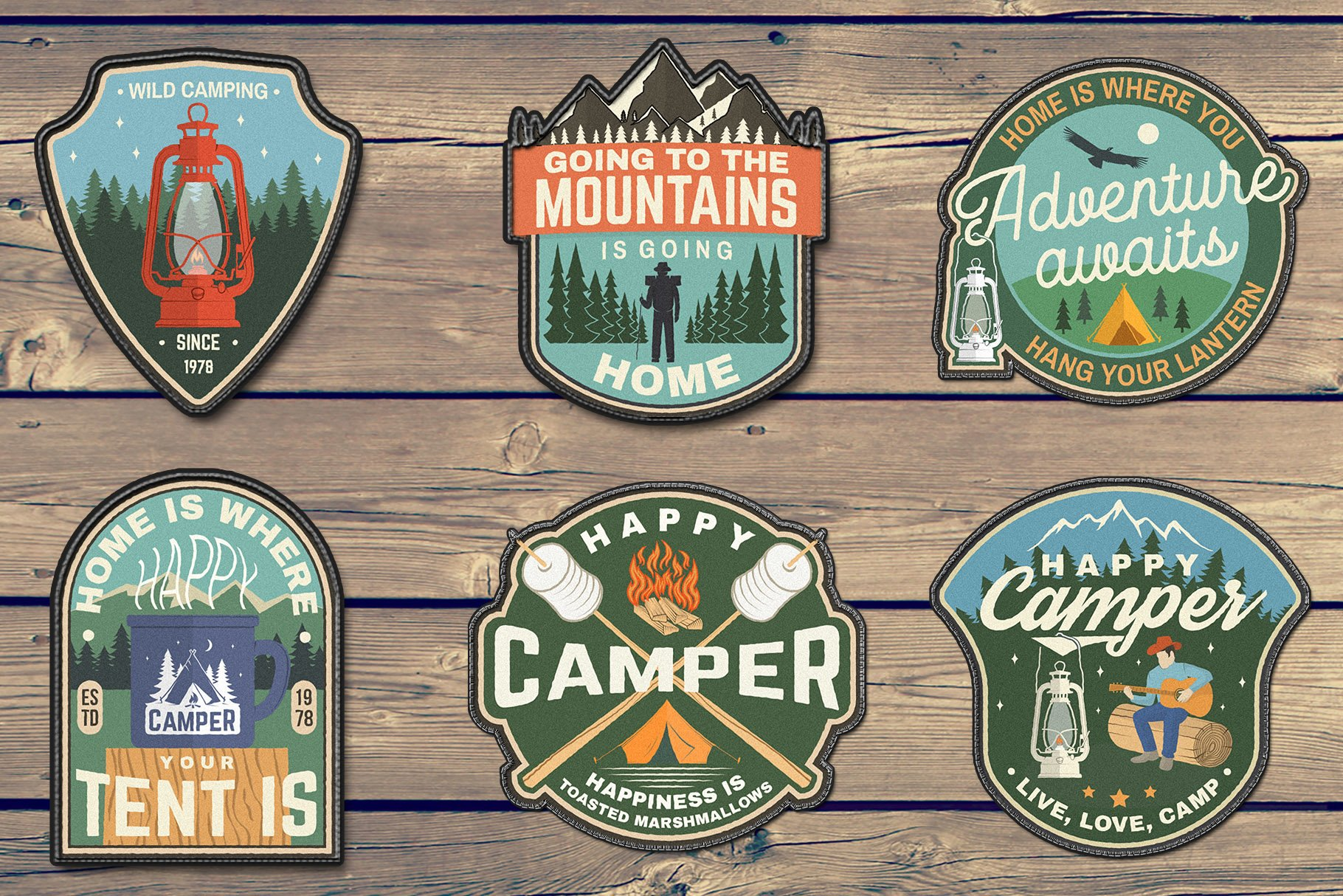 Summer Camp Patches Part 2 example image 3