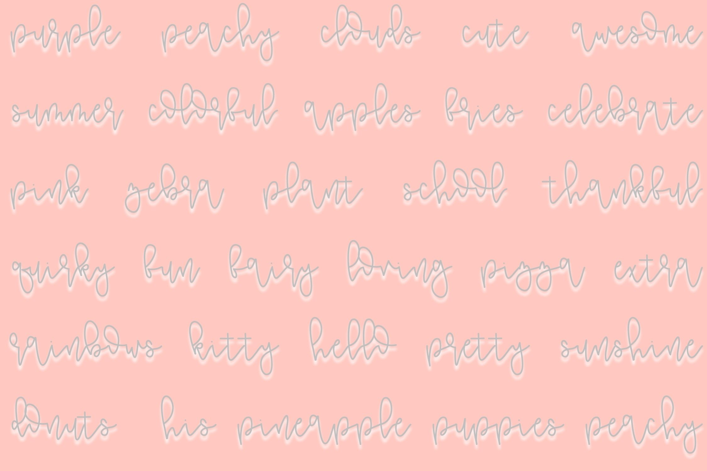 Chocolate Chip   A Fun Script Font   Hand Lettered example image 3