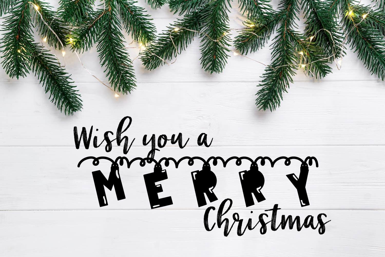 20 Christmas Fonts - A Christmas Font Bundle! example image 21