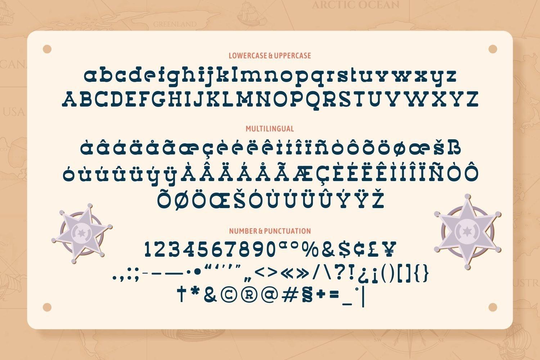 Web Font Wild Equine - Fun and Playful Slab Serif Display example image 5