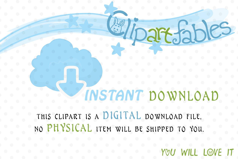 Cute CARNIVAL clipart, Amusement park - Roller-coaster example image 4