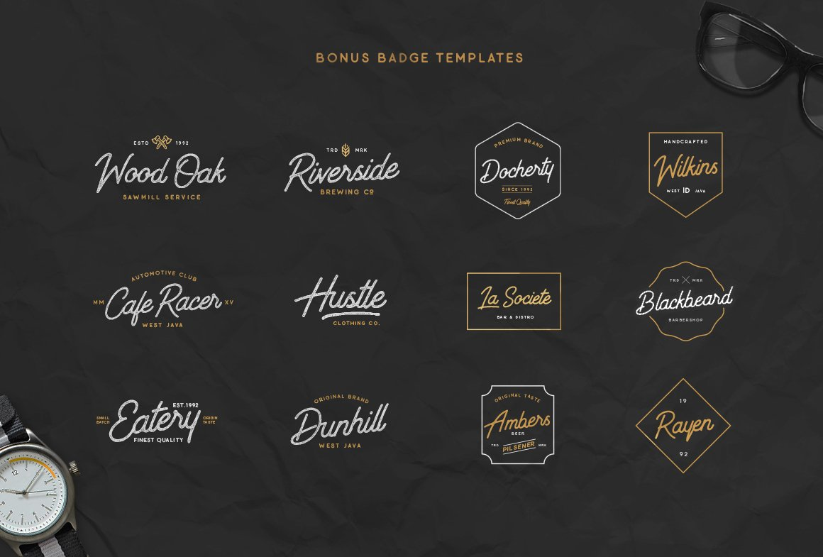 Outdoors Inks Script example image 13