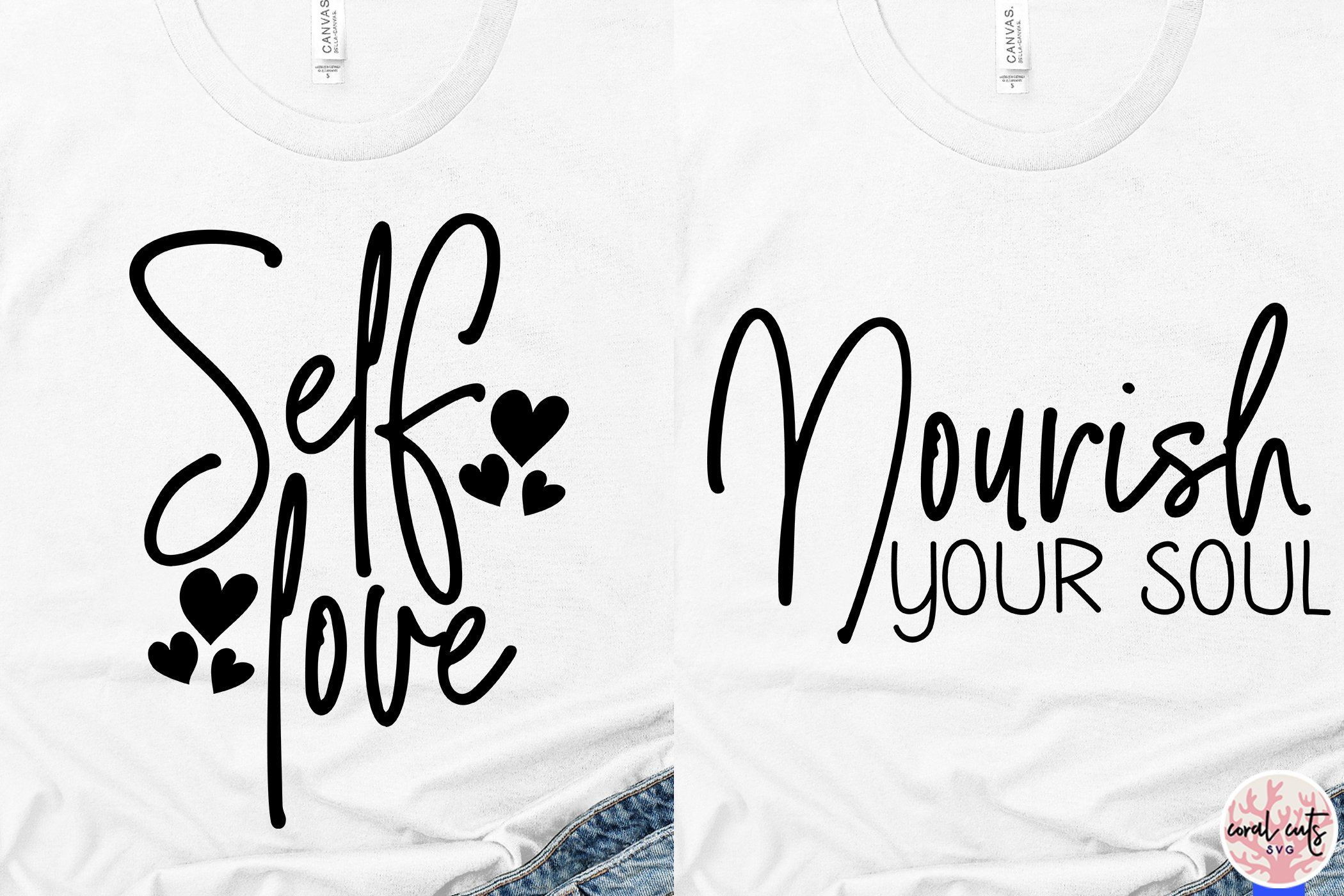 Download Self Love Quote Bundle - EPS SVG DXF PNG (561355) | Cut ...