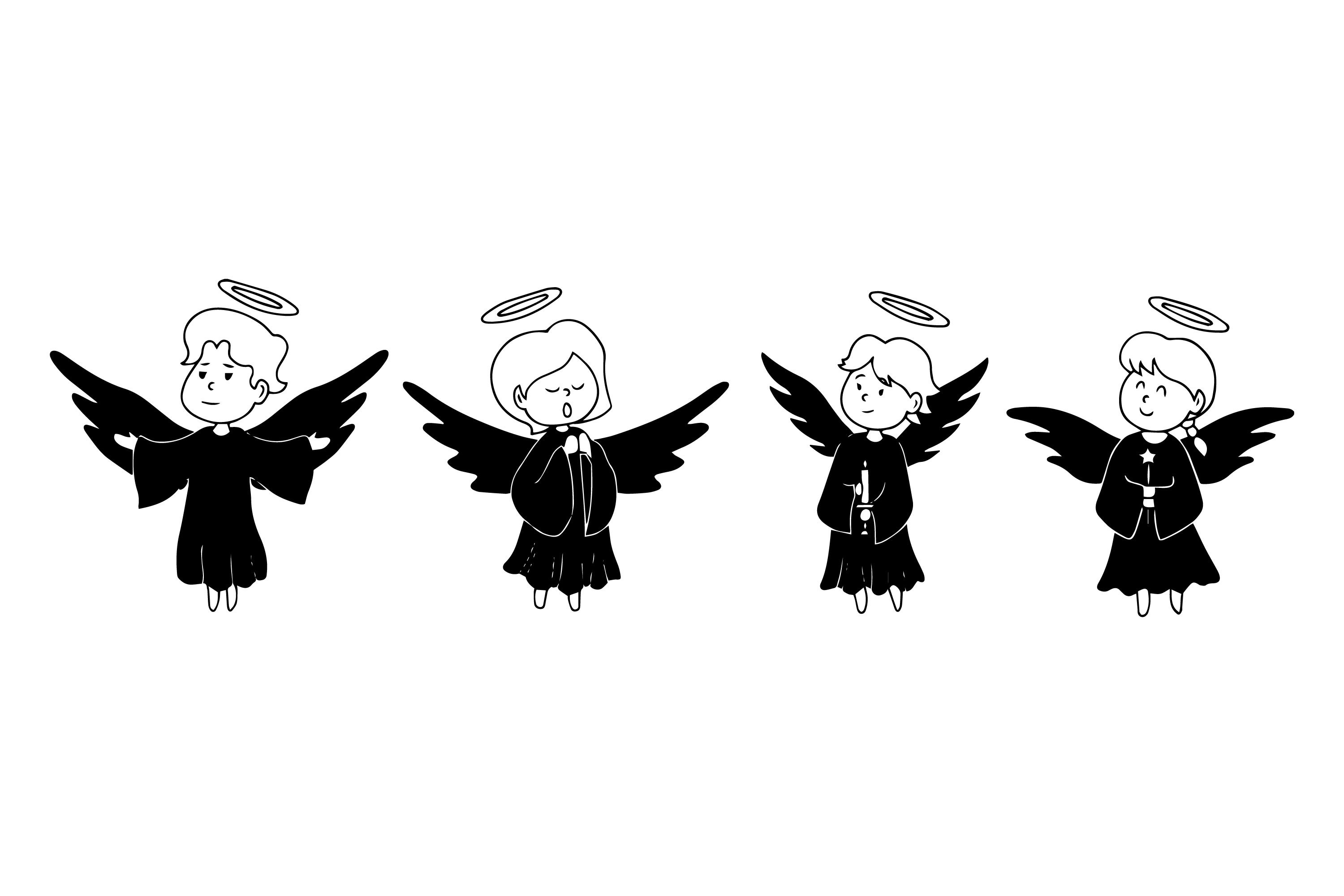 Angel Silhouettes example image 1