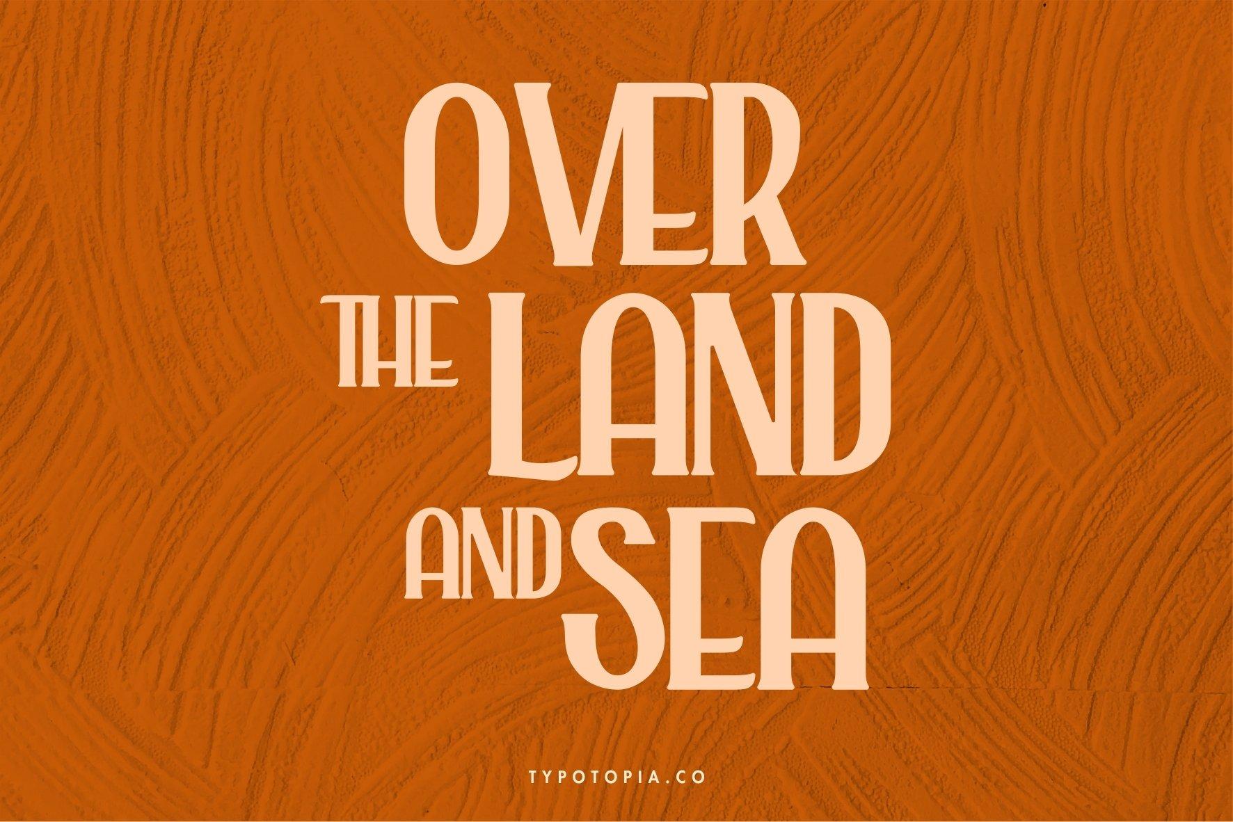 Alaska Typeface example image 6