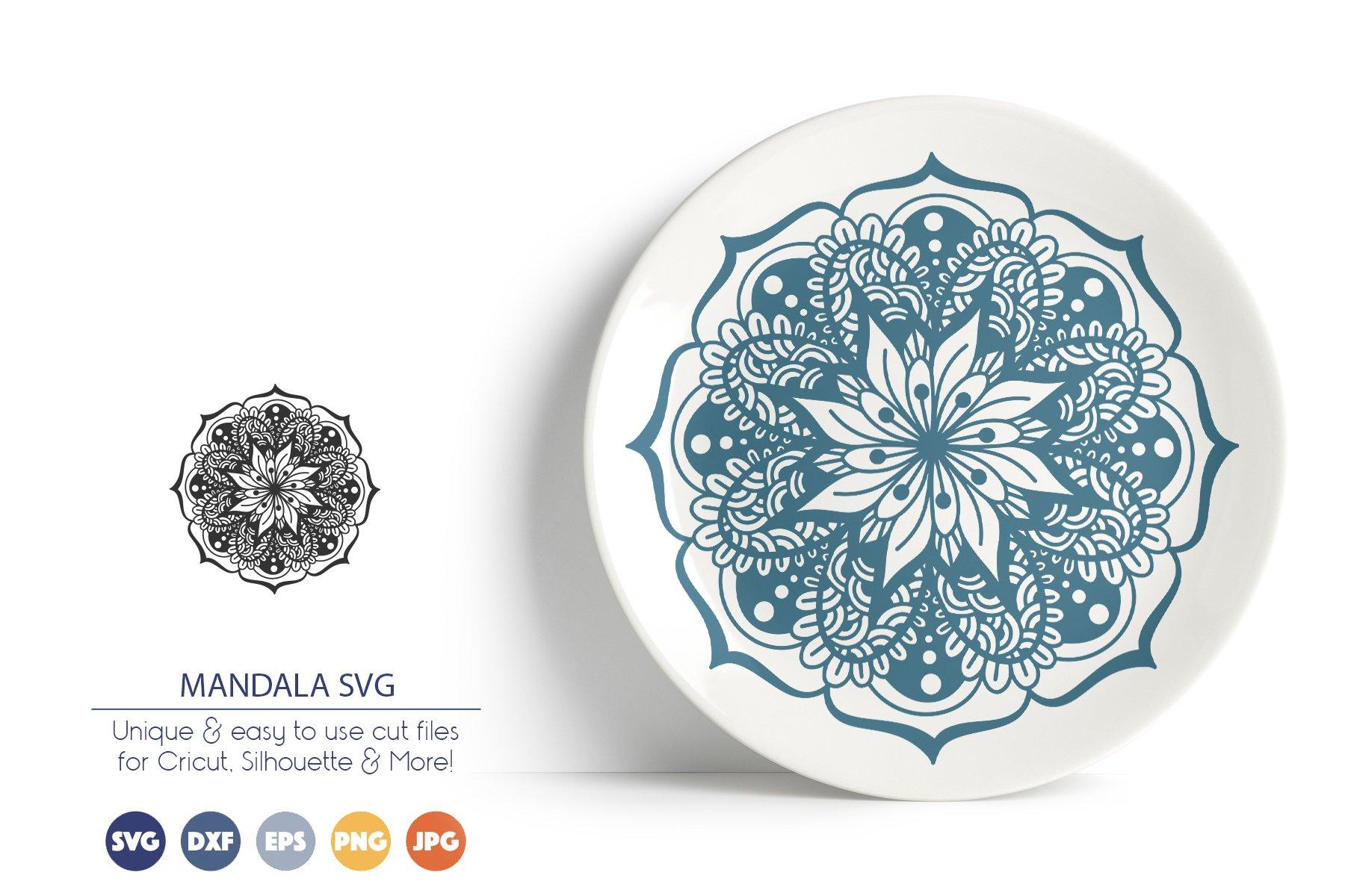 Mandala SVG Cut Files example image 1