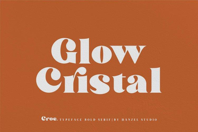 Croc. Typeface Bold Serif example image 2